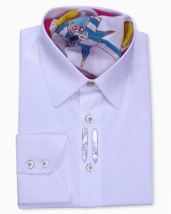 Classic Style Tailored Fit White Shirts