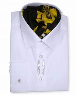 Classic Style Regular Fit White Dress Shirts
